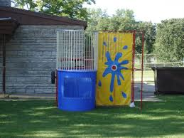 dunk tanks party time rental dunk tank and bounce house rentals brainerd mn