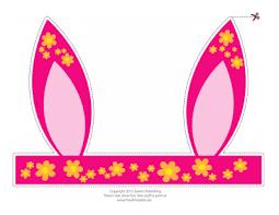 100 bunny ears headband template 32 best bunny ears images on