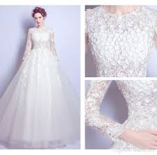 brautkleider mit ã rmel aus spitze luxurious and white wedding dresses lace beaded handmade