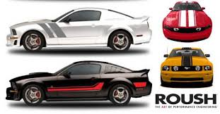 stripes on mustang roush stripe kits allow ford mustang customization stangnet
