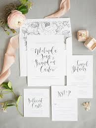 calligraphy invitations calligraphy wedding invitations from shine wedding invitations