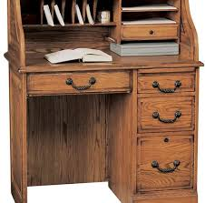 Writing Desk With Drawer by Antique Writing Desk With Roll Top In Solid Wood