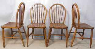 Ercol Dining Chair Set Of Four Elm Kichen Dining Chairs Sold