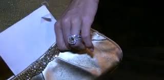 Huge Wedding Rings by Joanna Krupa U0027s Huge Engagement And Wedding Rings See Them Here