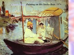 Claude Monet Blind Impressionism Subtle Table Of Contents Edgar Degas Eugene Boudin