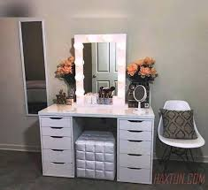 Vanity For Makeup With Lights Other Cherry Bedroom Vanity Makeup Vanity Set With Lights Living