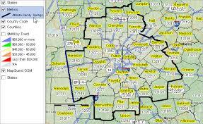 map of atlanta metro area demographic projections 2015 2040 atlanta springs