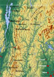 usa map vt reference map of vermont usa nations project