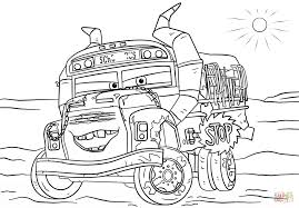 miss fritter from cars 3 from disney cars coloring page free