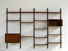 midcentury wall unit wall mounted shelving units wall mounted