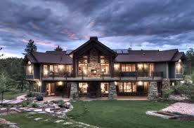 apartments modern mountain house plans mountain craftsman style