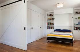 Modern Interior Design For Apartments Built In Bed Small Apartments Interior Design Solution