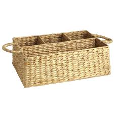 carson natural wicker divided basket pier 1 imports
