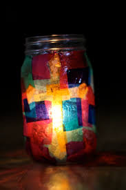lenten vigil candle holder u2013 do small things with love