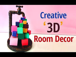 very creative 3d room decor display craft diy home decoration