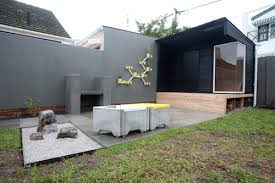 mid century modern landscaping curate this space