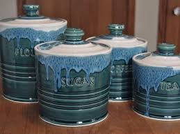 pottery kitchen canister sets best 25 ceramic canister set ideas on canisters
