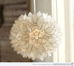 Seashell Light Fixtures 15 Seashell Ceiling Lights To Illuminate Your Space With