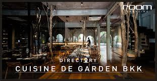 de cuisine cuisine de garden bkk แรงบ นดาลใจจาก ธรรมชาต ส จานอาหารส ดโมเด ร น