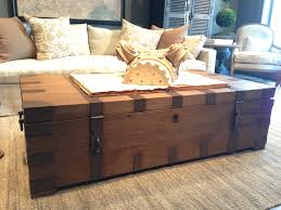 coffee table trunk restoration hardware condo pinterest