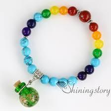 prayer bracelet images Beaded charm bracelets essential oil bracelet diffuser 7 chakra jpg