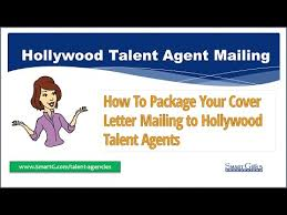 actors talent agent mailing packaging youtube