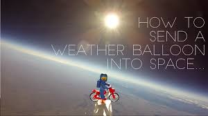 send a balloon how to send a weather balloon into space bikewrappers