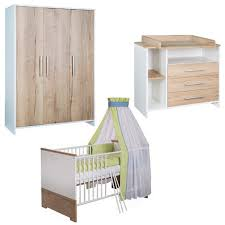 Cot Changing Table Schardt Eco Silver Nursery Furniture Set Prams Net