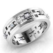 mens engagement rings white gold s white gold rings ebay