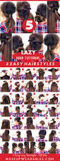 26 lazy hairstyling hacks 5 lazy easy hairstyles for the busy holiday season fall hair