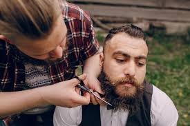 finding the right men hairstyle finding the right beard length size matters