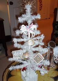 manificent decoration white feather tree luxury with