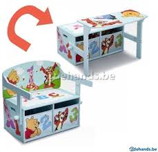 bureau winnie 3 1 speelgoedbank bureau winnie de pooh delta te koop