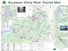 Boston Visitor Map by Allegany State Park Hiking Beyond The Trails Wnytrails