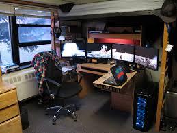 magnificent 40 custom l shaped computer desk inspiration design