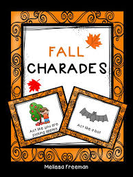 students will enjoy these 10 free fall themed charades cards