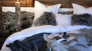 accessoires chambre deco chambre chalet accessoires en fourrure chambre deco style