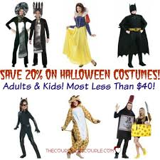 Halloween Costumes 20 Save 20 Halloween Costumes U0026 Kids 40