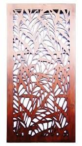 metal wall art leaves foter