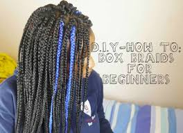 box braids protective styling easy tutorial for beginners
