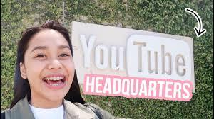 youtube headquarters tour 2017 thatsbella youtube
