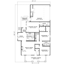 southern style house plan 3 beds 2 00 baths 1399 sq ft plan 17 436