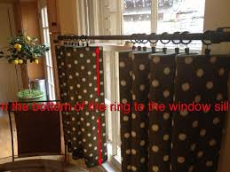 Window Sill Curtains How To Make Café Curtains Snapguide