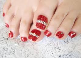 top 25 best red pedicure ideas on pinterest simple nail art
