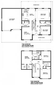 modern house plans free with simple roof designs two story