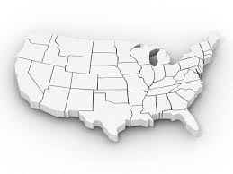 United States Map Outline by United States Outline Map Blank Outline Map Of United States Of