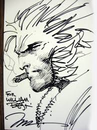 wolverine by jim lee in will lee u0027s convention sketches comic art