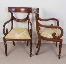 Antique Regency Dining Chairs Set Of 16 Vintage Regency Style Dining Chairs Swag Back At 1stdibs