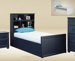 Bed Style by White Twin Size Captains Bed U2014 Modern Storage Twin Bed Design