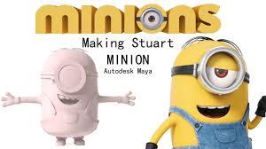 making stuart minion autodesk maya